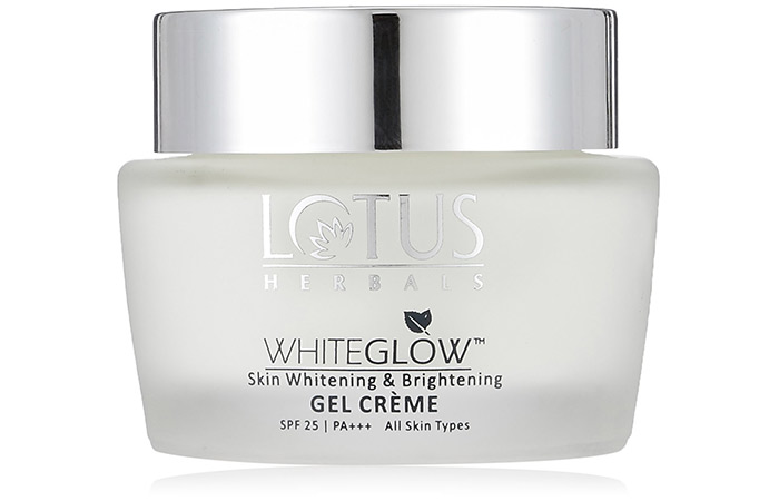 लोटस हर्बल वाइटग्लो स्किन वाइटनिंग एंड ब्राइटनिंग (lotus herbals whiteglow skin whitening and brightening)
