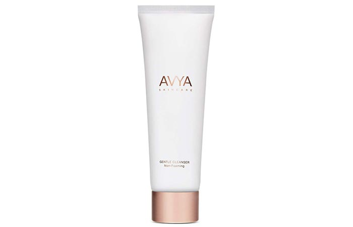 4. Avya Non-Foaming Gentle Cleanser