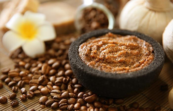 4. Coffee And Brown Sugar Scrub