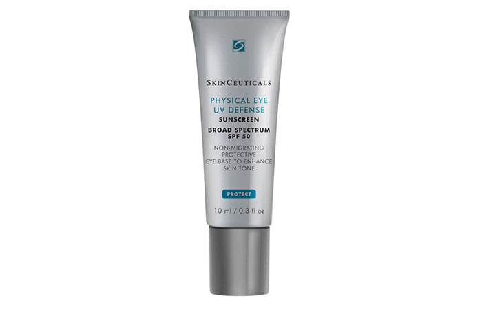 SkinCeuticals Physical Eye UV Defense Sunscreen - Zinc Oxide Sunscreens