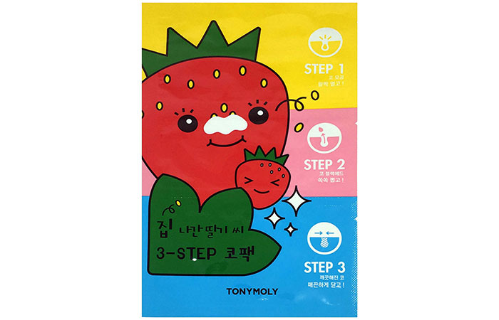 6. TonyMoly 3-Step Nose Pack