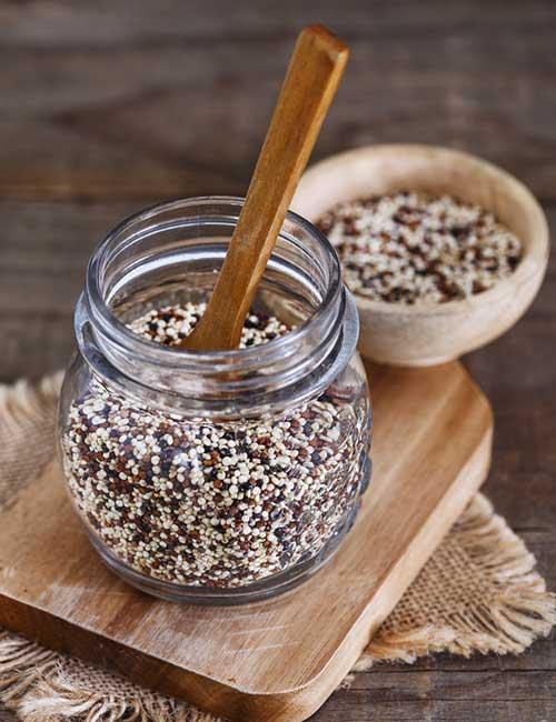 7.Amaranth, Quinoa, And Teff
