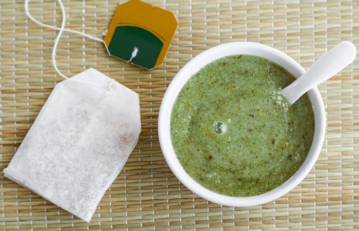 7. Coffee And Green Tea Scrub
