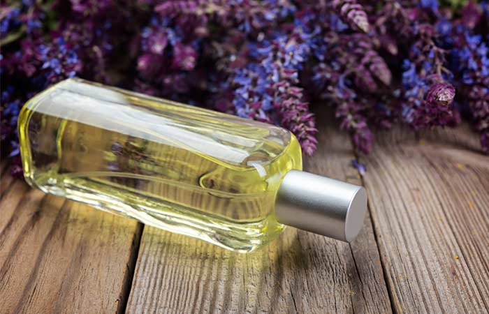 8. Clary Sage Oil
