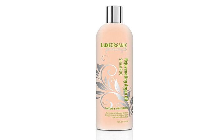 9. LuxeOrganix Rejuvenating shampoo for argan oil