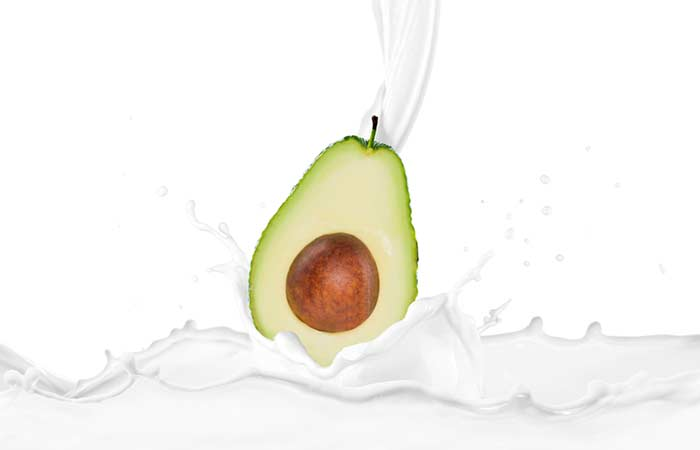 Avocado And Milk Face Mask – For Dry Skin
