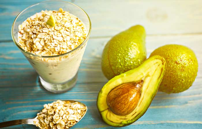 Avocado And Oatmeal Face Mask – For All Skin Types
