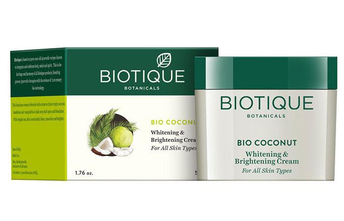 Biotic Bio Coconut Whitening and Brightening Cream