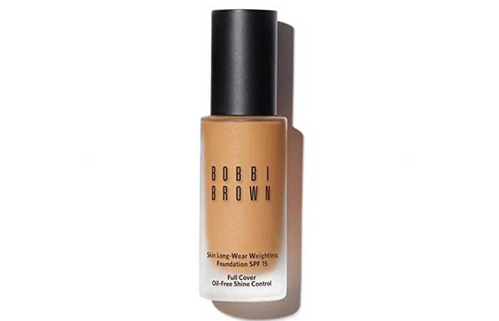 Bobbi Brown Skin Long-Wear Weightless Foundation - Best Foundations For Acne-prone Skin