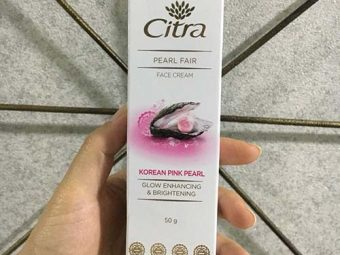 Citra Pearl Fair Face Cream With Korean Pink Pearl pic 1-Love the feel and finish-By Mansi_Sharma