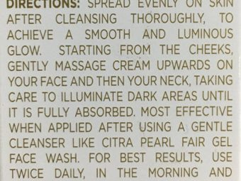 Citra Pearl Fair Face Cream With Korean Pink Pearl pic 4-Love the feel and finish-By Mansi_Sharma