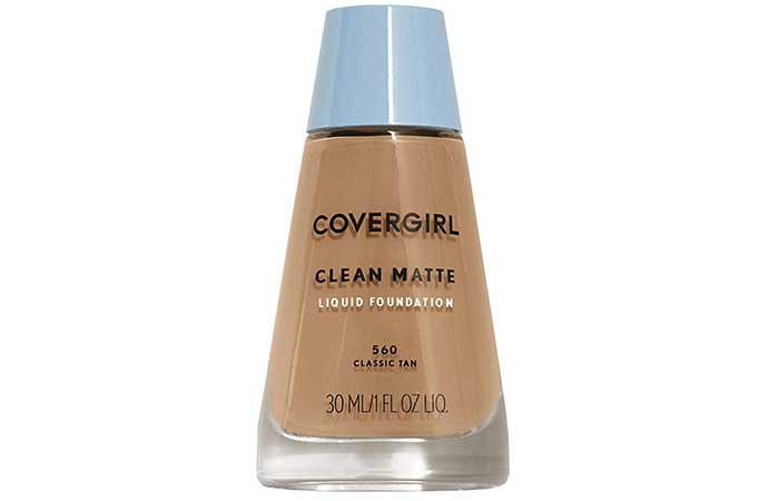 Covergirl Clean Matte Oil Control жидкий макияж-лучшие основы для склонной к акне кожи