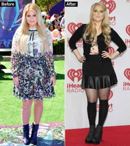 Meghan Trainor's 20 Lbs Weight Loss Secret – The Before And After Of The All About The Bass Singer