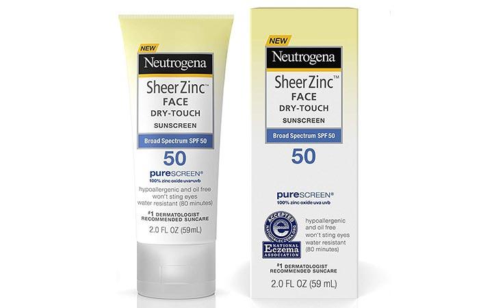 Neutrogena Sheer Zinc Face Dry-Touch Sunscreen