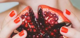 Pomegranate Peel Does Wonders