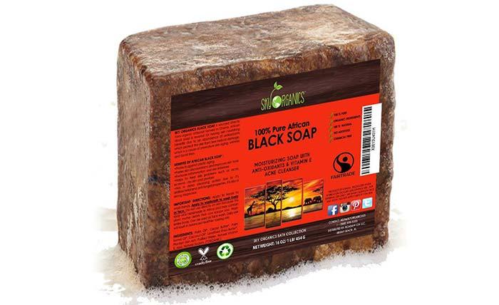 Sky Organics 100% Pure African Black Soap
