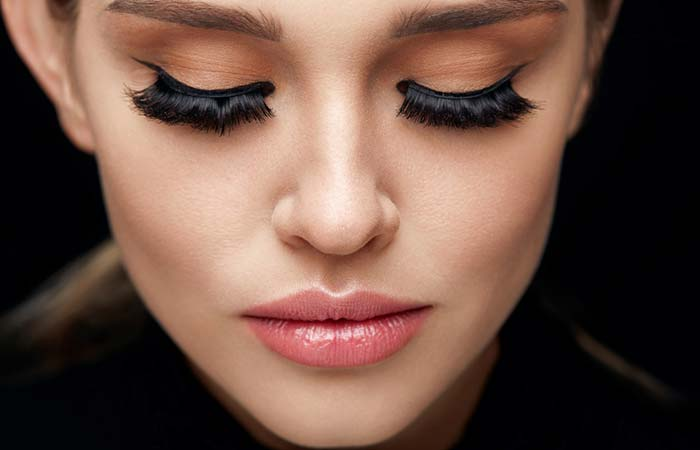 Thick Lashes And Eyebrows