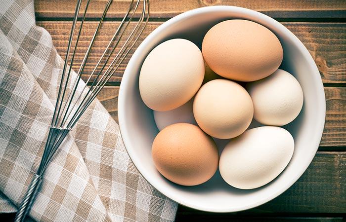 चेहरे पर चमक लाने के लिए अंडा