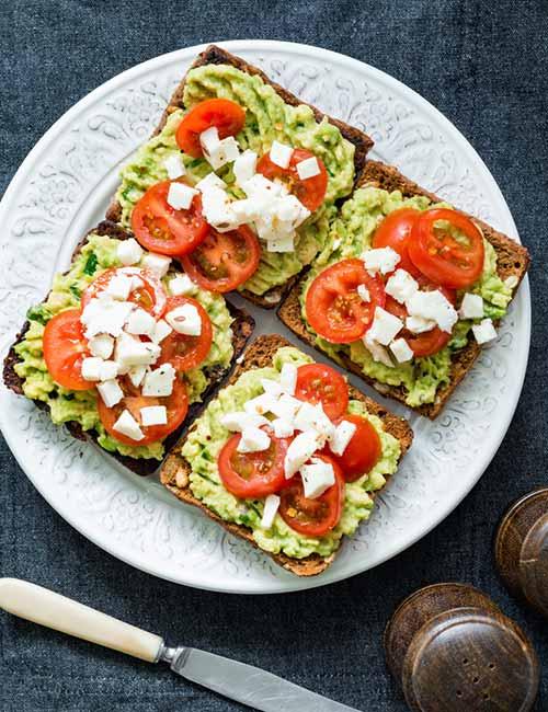 1.-Breakfast-–-Vegetarian-Avocado-Toast