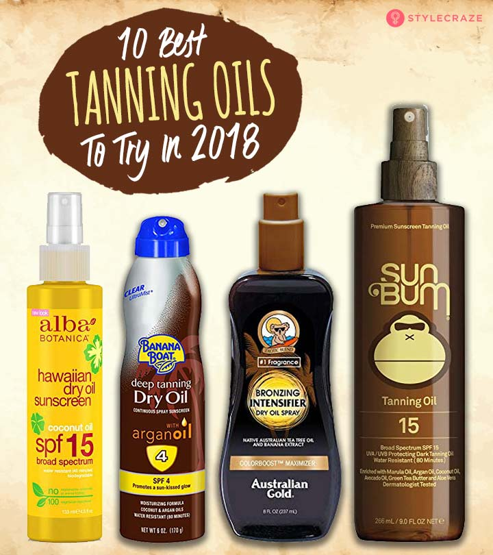 10 Best Tanning Oils You Must Try - 2019 Top Picks and Reviews