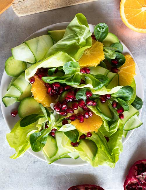 10.-Vegan-Fruits-And-Greens-Toss-Salad