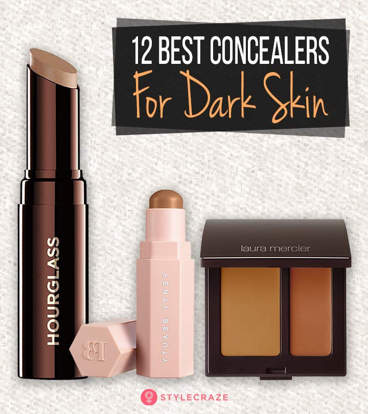 12 Best Concealers For Dark Skin