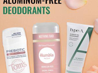 15 Best Aluminum-Free Deodorants