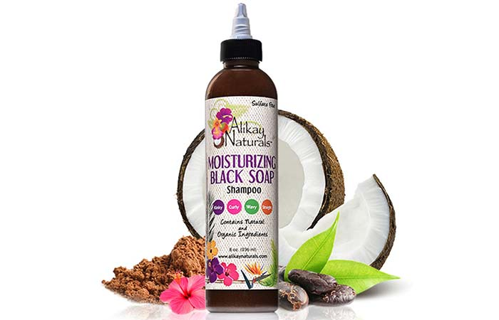 Alikay Naturals Moisturizing Black Soap Shampoo