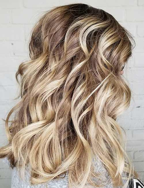 Ash And Champagne Blonde Mix
