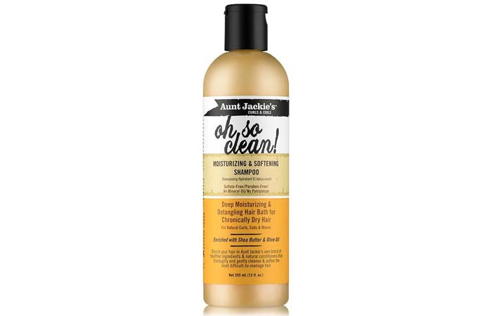 Aunt Jackie's Oh So Clean! Moisturizing And Softening Shampoo