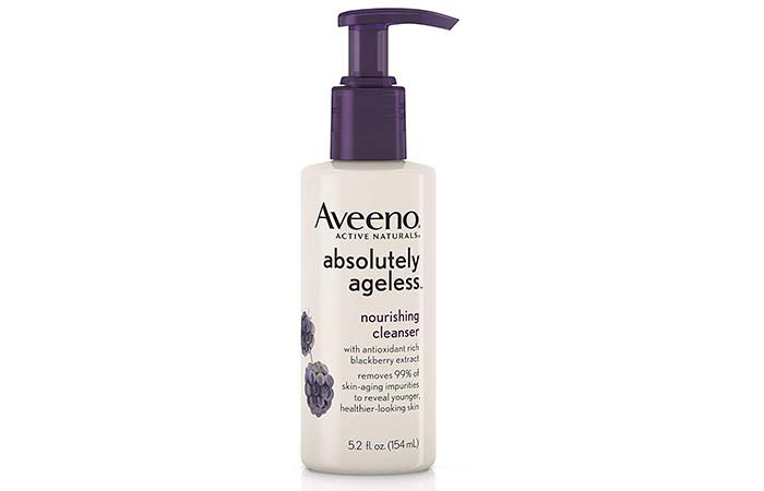 Aveeno Absolutely Ageless Nourishing Cleanser