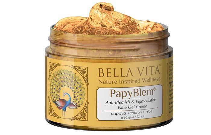Bella Vita Organic Papyblem Pigmentation Blemish Cream