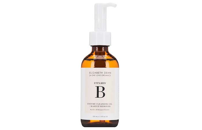 Best Oil-Based Cleanser – One Love Organics Vitamin B Enzyme Cleansing Oil + Makeup Remover