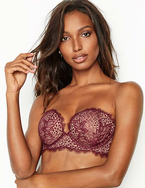 Best Plunging V-Neck Bandeau Bra - Best Strapless Bras