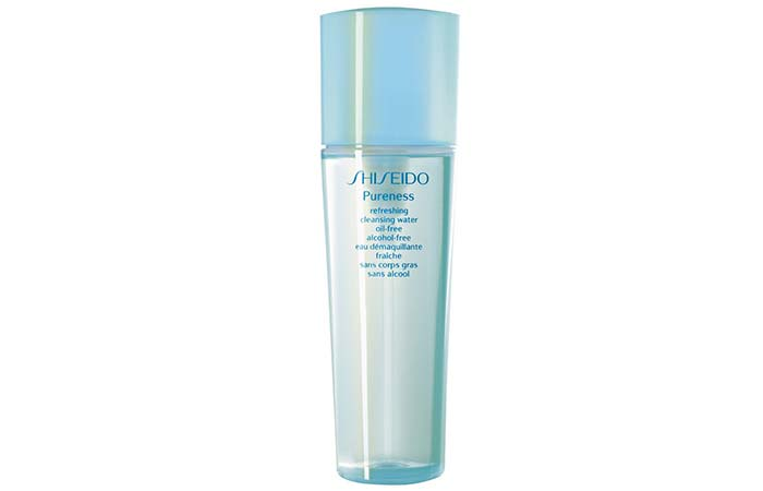 Best Water-Based Cleanser – Shiseido Pureness Refreshing Oil-Free Cleanser