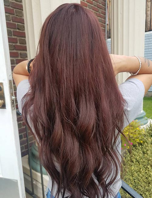Brown Red Hair