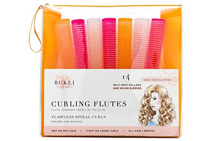 Bulki Hair Care Curling Floats Self Grip Rollers