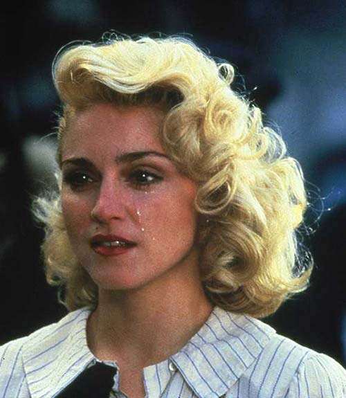 Classic Madonna One Side Hair
