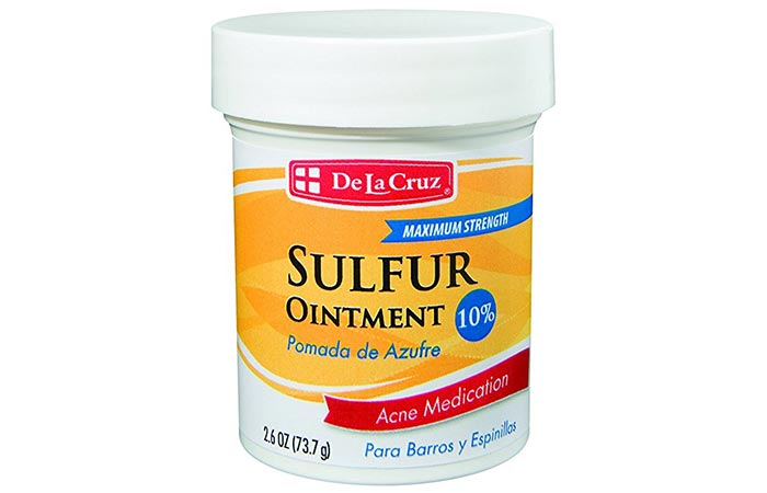 De La Cruz 10% Sulfur Ointment Medication