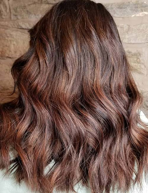 Deep Brown Red