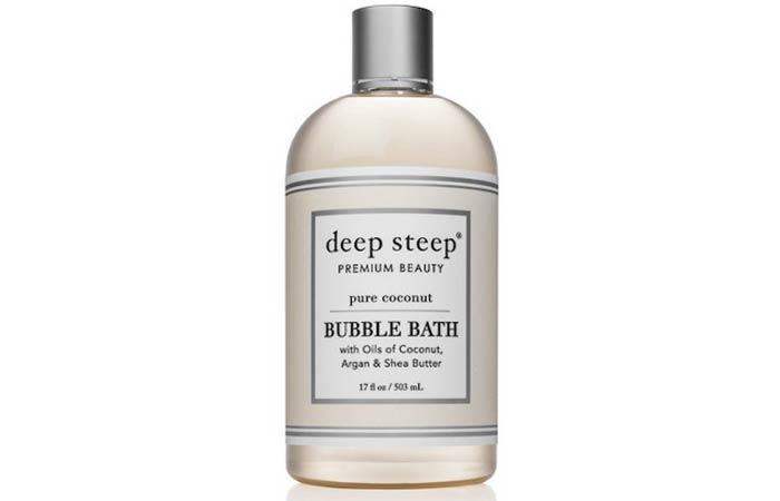 Deep Steep Coconut Oil Bubble Bath