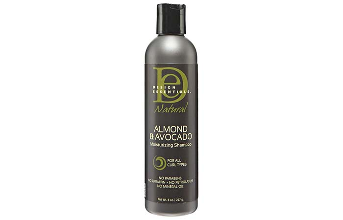 Design Essentials Natural Almond & Avocado Moisturizing And Detangling Shampoo