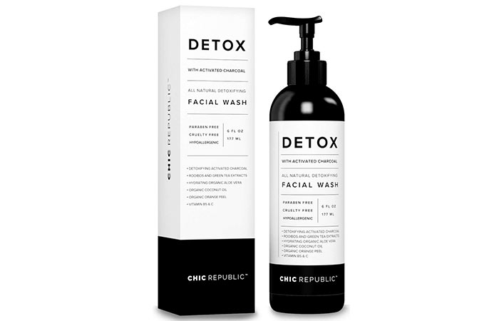 Detox All Natural Detoxifying Facial Wash