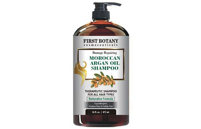First Botany Moroccan Argan Oil Shampoo