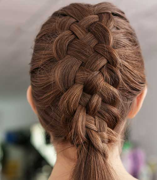 Four-Strand Dutch Braid - Dutch Braid