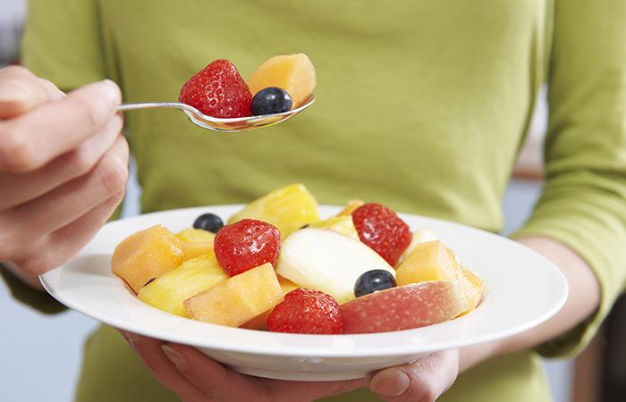 वज़न घटाने के लिए fruit salad