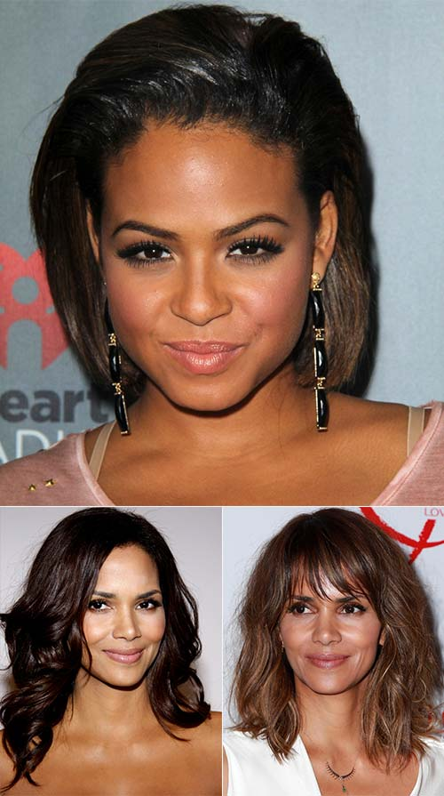Hair Colors For Dark Skin Tones With Brown Eyes