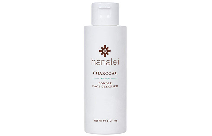 Hanalei Charcoal Powder Face Cleanser