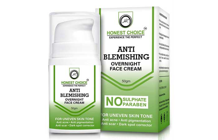 Honest Choice Anti Blemish Face Cream