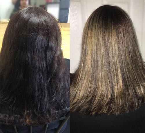 How To Lighten Dark Hair Color